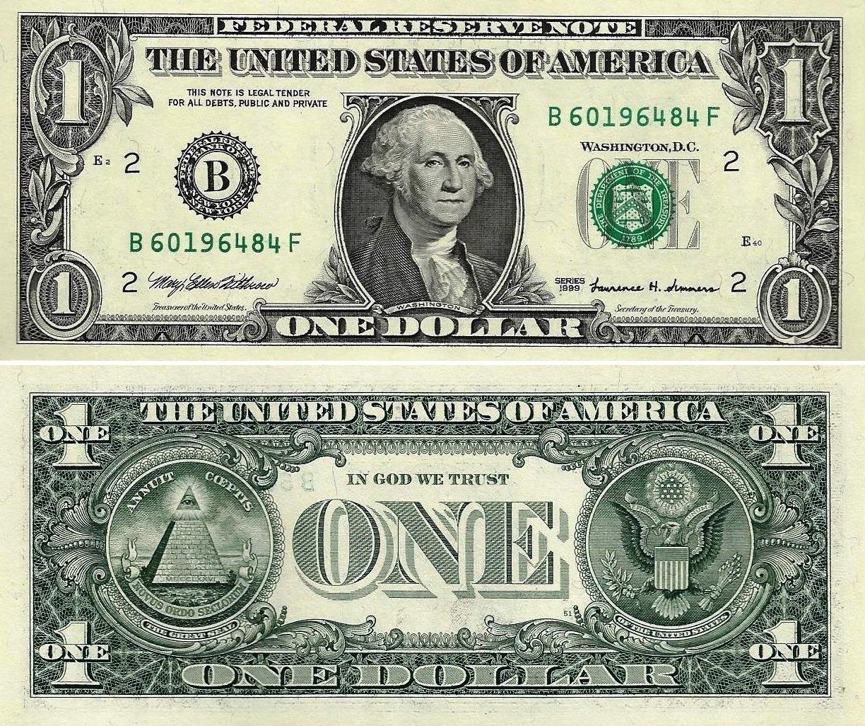 Counterfeit Us Dollar Bill Stock Photo