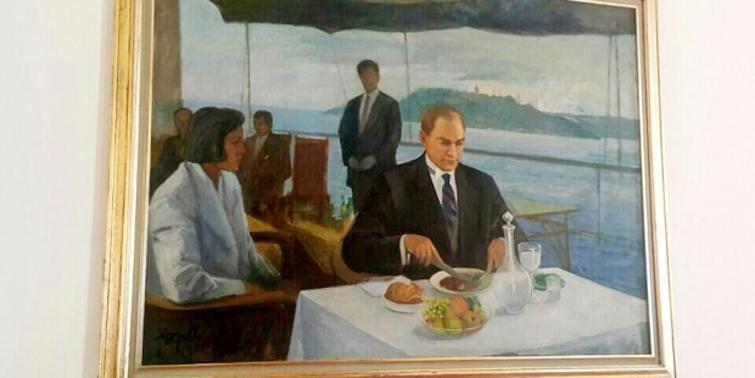 Image result for mustafa kemal atatürk raki painting