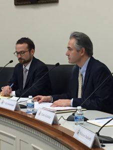 Alliance for Shared Values director Dr. Y. Alp Aslandoğan (R)
