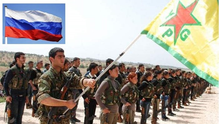 Image result for ypg and russia