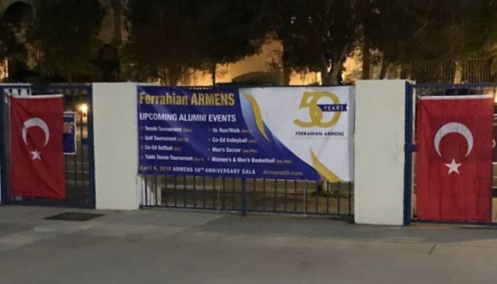 LA police investigate Turkish flags hung at Armenian schools