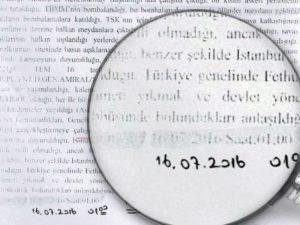Journalist reveals document destroying gov't narrative about July 15 21